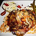 Savoyard en sauce tomate - teriyaki