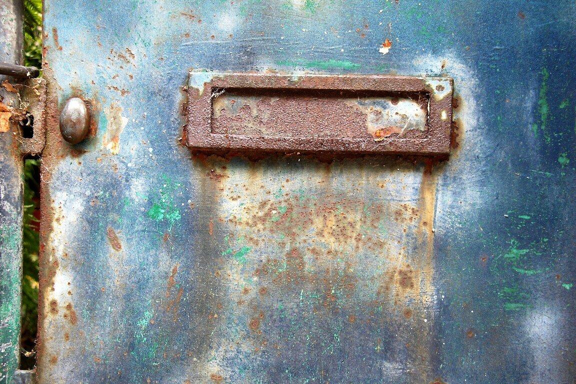 Boite aux lettres, matières, Mouzaïa_6514