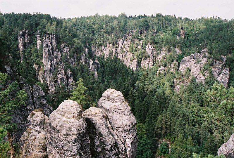 64-A Bastei, grès et forêt