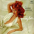George Shearing Quintet And Orchestra - 1960 - White Satin (Capitol)