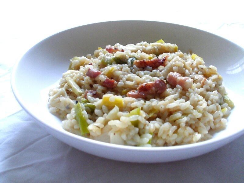 recette di risoto alla française