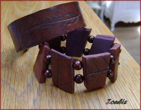 bracelets_vieux_cuir_feuilles