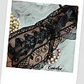 mitaines noire, gants de mariée, dentelle broderie amd a coudre (11)