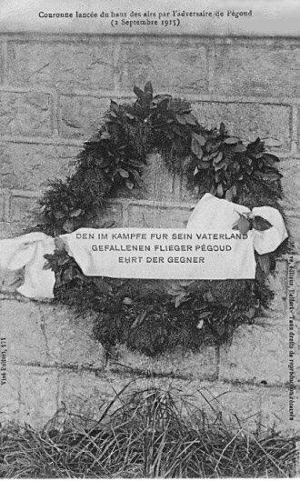 CPA Couronne allemande Pégoud
