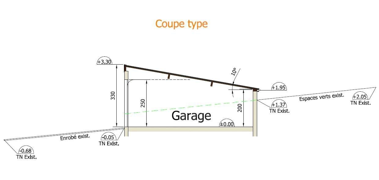 Realisation D Un Garage Realisation Des Plans De Plan B