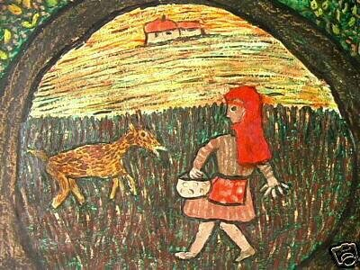 PEPERSACK Le petit chaperon rouge circa 1965 36 x 51