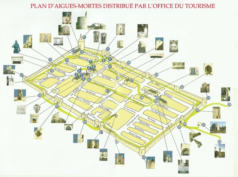 PLAN AIGUES MORTES DE L'OT