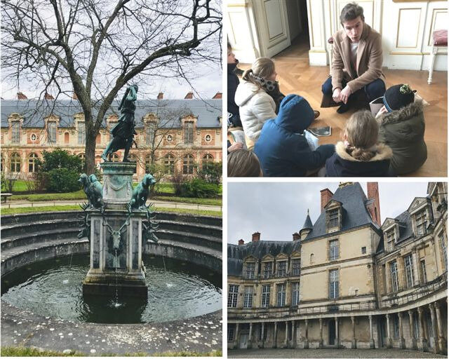 Visite guidée ludique à Fontainebleau ©Kid Friendly