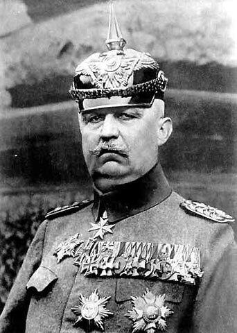 1918 08 08 Erich Ludendorff en 1918
