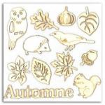 AB23 coll feuilles chataignes