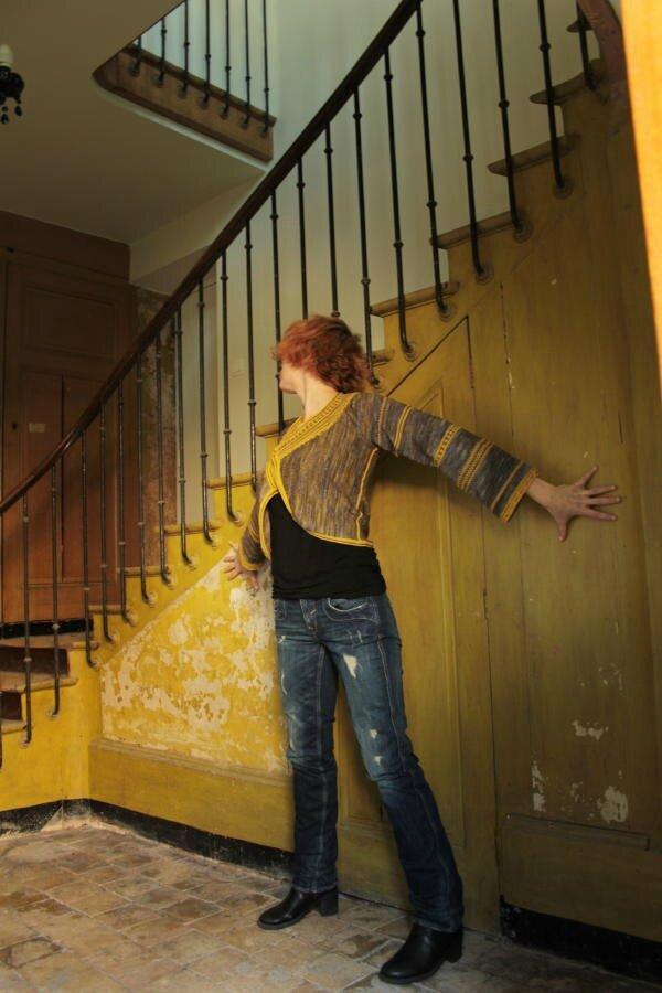 Gilet Turner dans lumière Flamande par Claitte