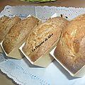Minis cakes pommes noix cannelle