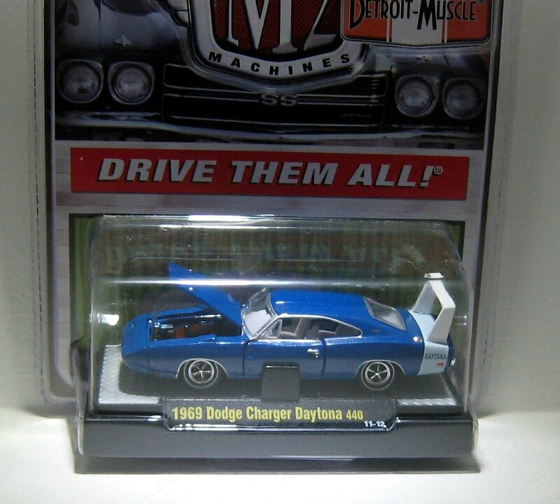 Dodge charger daytona 440 de 1969 (M2 Machines)