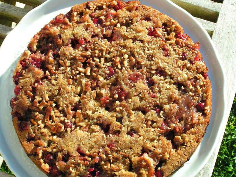 gâteau aux canneberges et noix de Pécan (7)