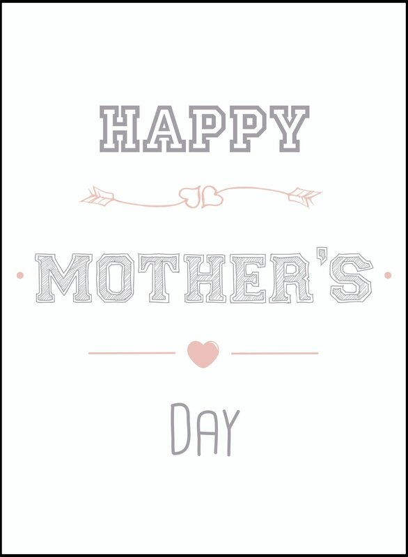 Card Happy Mother's Day Grey by BBTMA - copie 2
