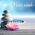 Bon week-end - 1er septembre 2018