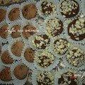 Les truffes aux amandes et au chocolat