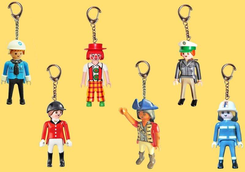 Porte-clés Playmobil 6
