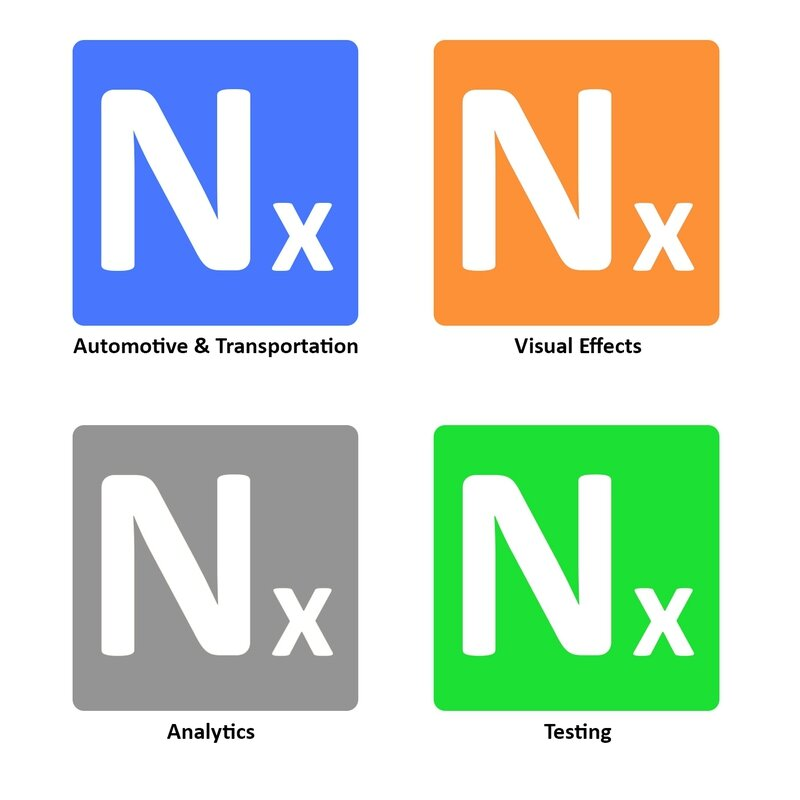 Nexyad 4 boutons fond blanc