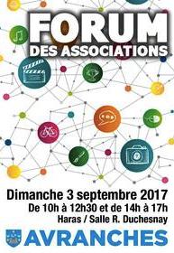 forum associations Avranches dimanche 3 septembre 2017