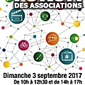 Forum des associations à avranches - dimanche 3 septembre 2017