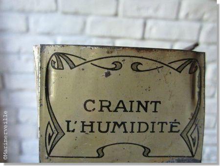 boîte ancienne métal