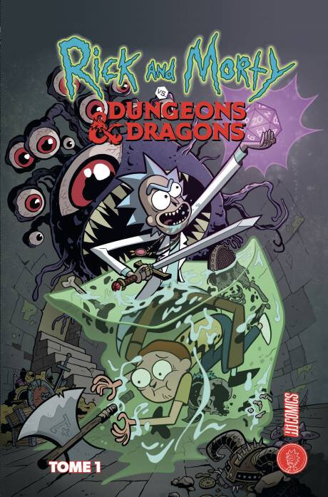 hicomics rick and morty vs dungeons and dragons 01