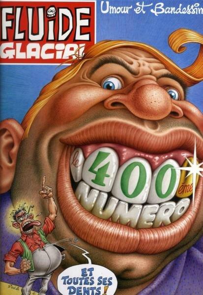Magazine Fluide glacial n° 400