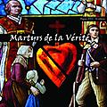 Les martyrs de la vendée au saint sépulcre d'angers