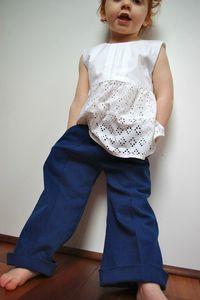 Une Petite Fourmi - couture fille - 1