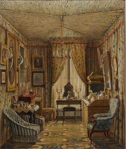 FE Villeret antichambre 1848
