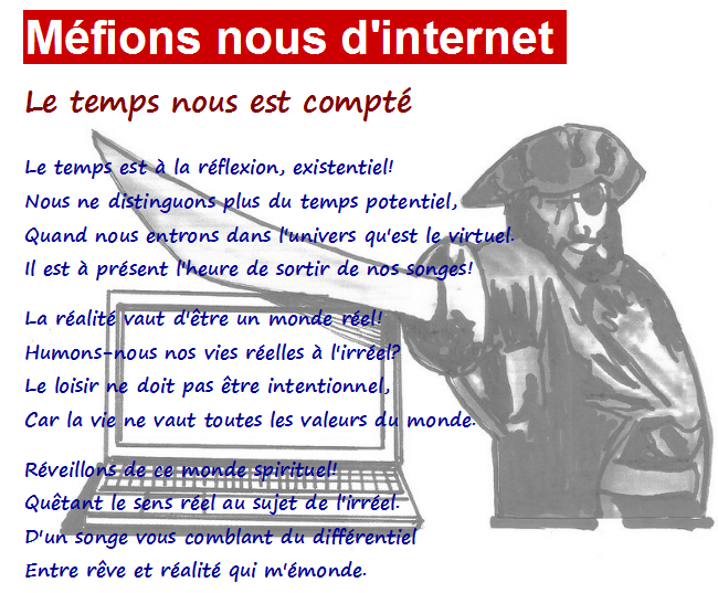 Capture Méfions d'internet