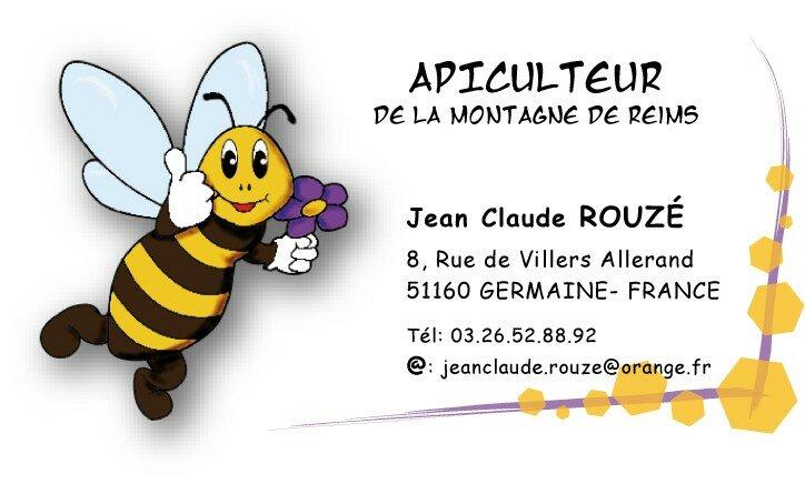 Logo Tiquette Et Carte De Visite Apiculteur