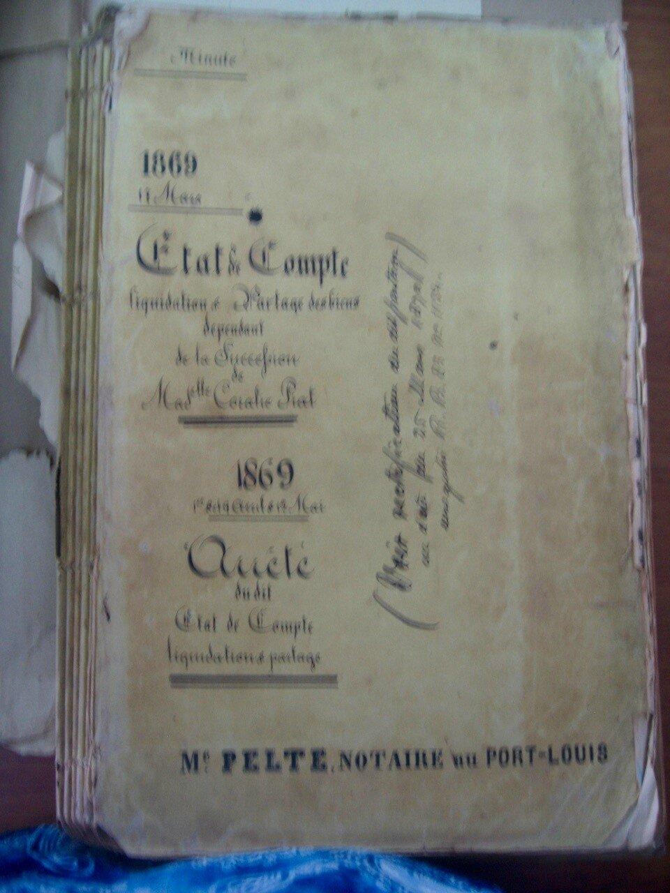 Piat Coralie_Liquidation partage 1869