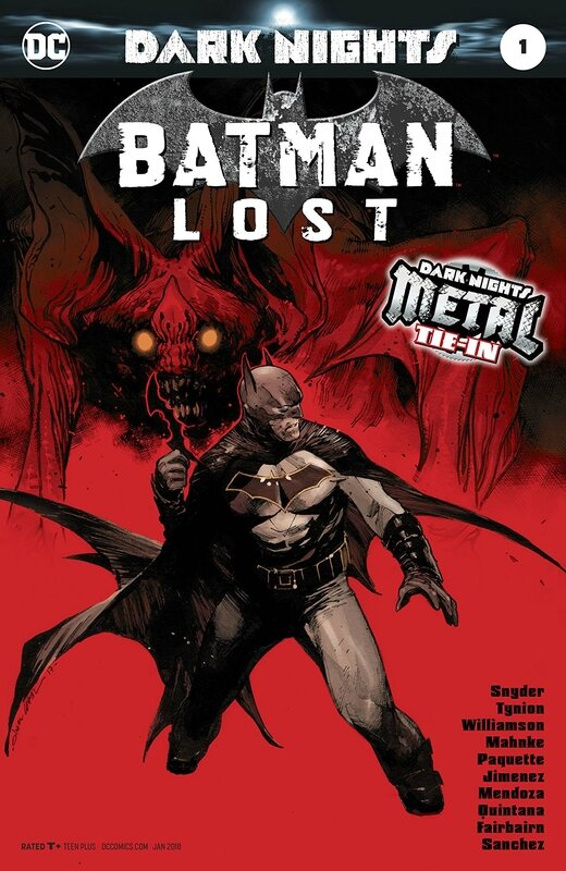 dark nights metal batman lost