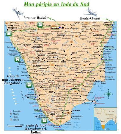 Mon périple en Inde du Sud