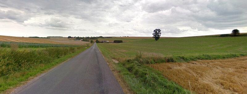 route de Banogne au hameau de Recouvrance (2)
