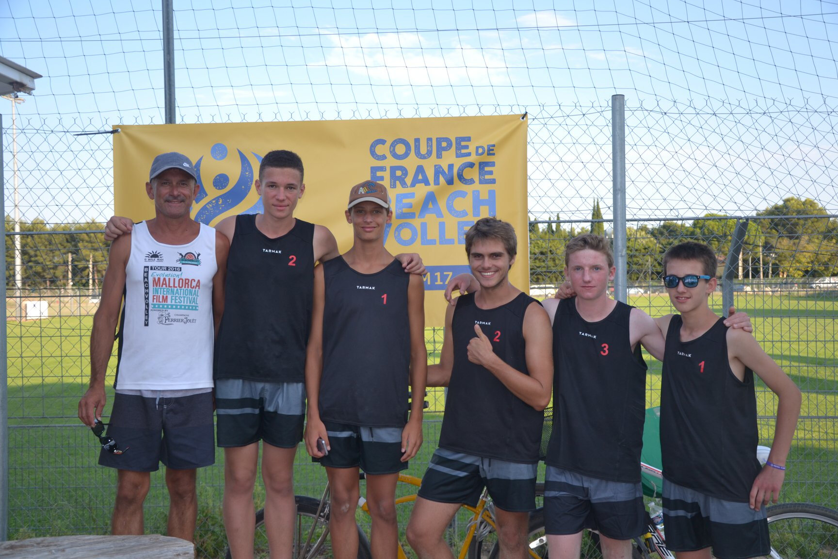 CDF Beach M17G : Bilan de la finale à Montpellier 13/14 juillet 2018 : 9eme français !