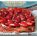 Cagette de fraises ( thermomix ou pas )