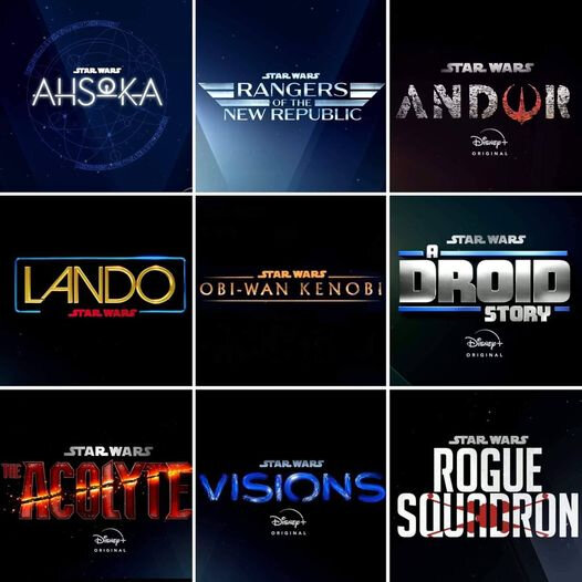 star wars projects series and movies