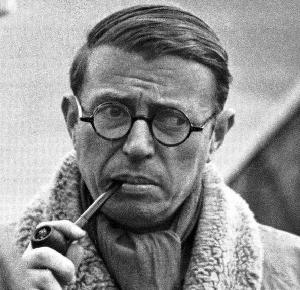 Photo Jean Paul Sartre