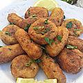 Maâkouda ( beignets de pomme de terre )