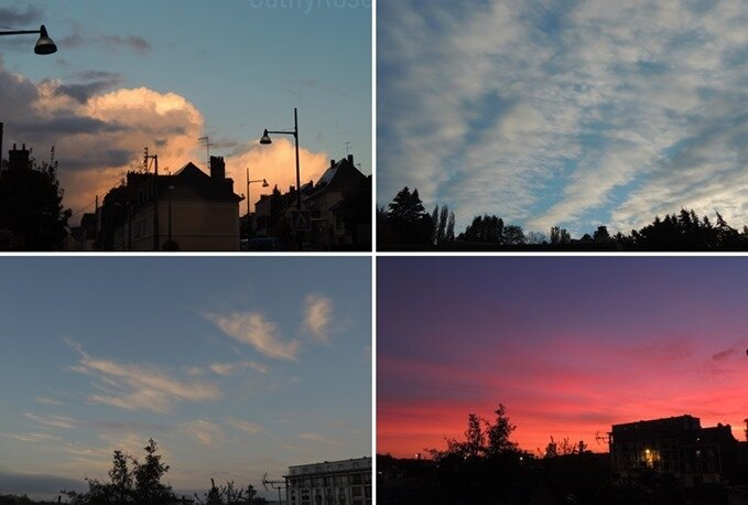 ciels de la semaine