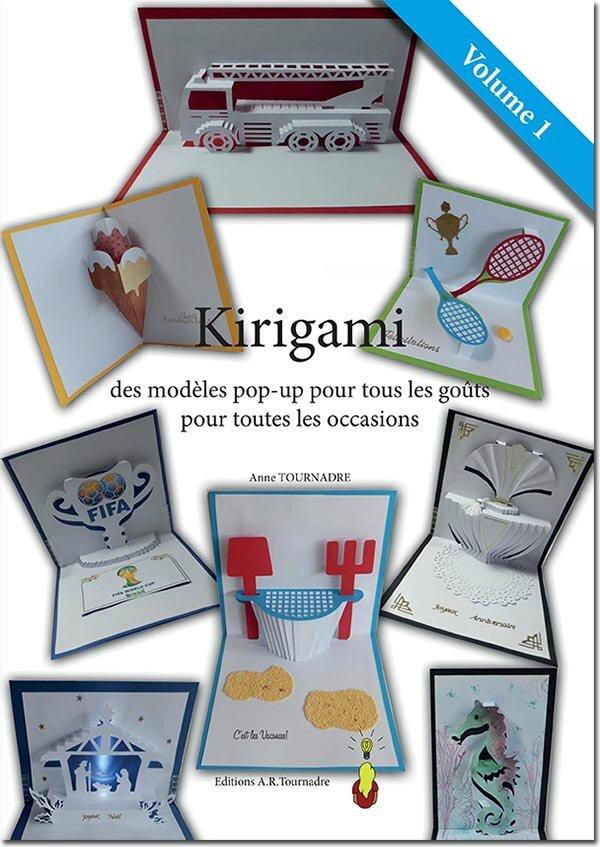 Mon premier livre enfin édité ! Kirigami - des modèles pop-up pour tous les goûts, pour toutes les occasions