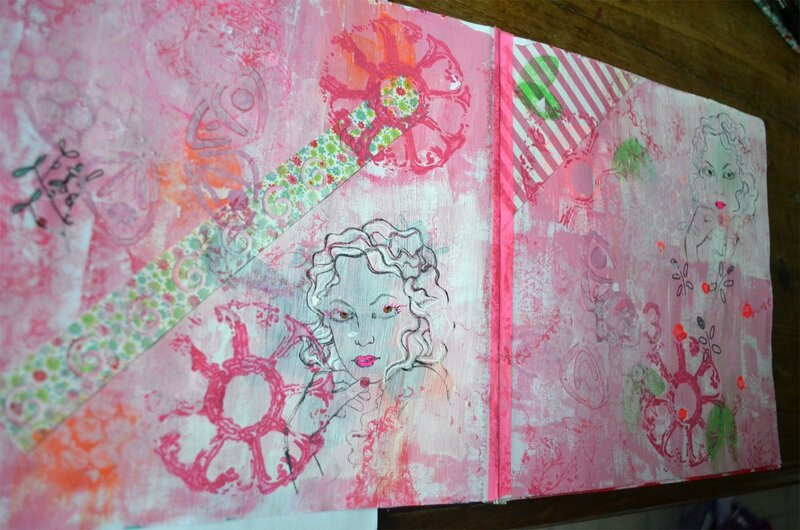 art-journal-rose2