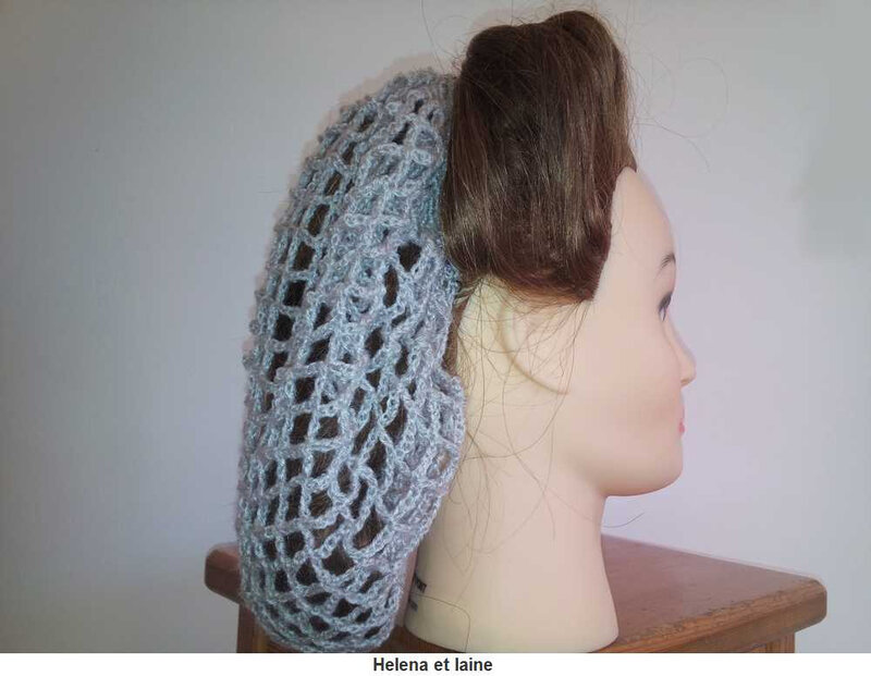 Snood hair gris2