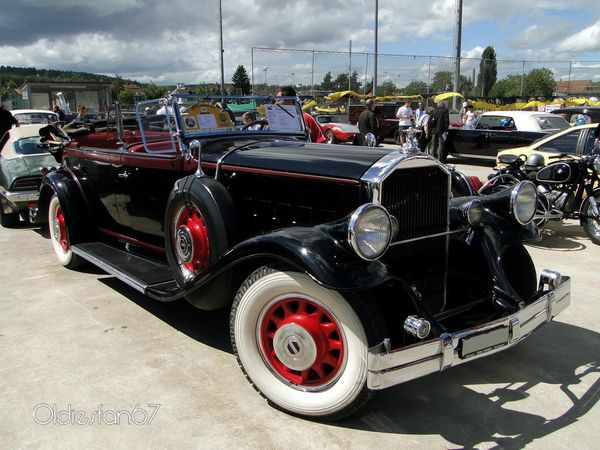 pierce arrow model 42 touring 1931 b