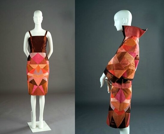Roberto Capucci, dress in silk taffeta, 2009