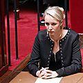 Marion maréchal – le pen, député fn du vaucluse, sur le projet de loi de finance rectificative pour 2014 à l'assemblée nationale