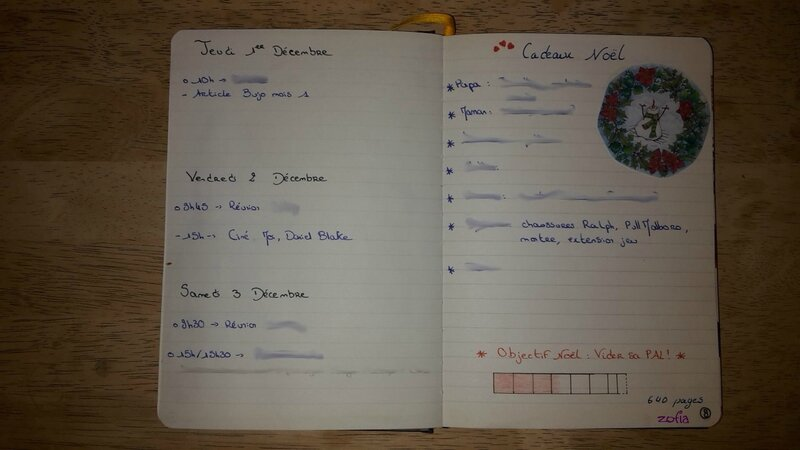 Page Quotidienne Bujo